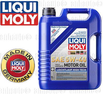 - 5-Liter  Liqui Moly Leichtlauf High Tech 5W-40 Synthetic  Engine Oil  2332