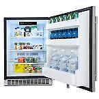 DANBY SILHOUETTE  Professional 5.5 cu. ft.Refrigerator in Stainless Steel BLOWOUT SALE from $299.99 NO TAX