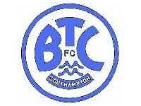 Girls football team sponsor