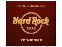 LINE CHEF- HARD ROCK CAFE