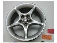 toyota celica 16 inch alloy wheel refurbed mint as a spare