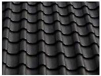 1100 + Black Matt clay ceramic Roof Tiles