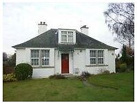 Detached 4 Bed House In Colinton For Rent