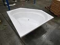 SAPHIRE CORNER BATH. BRAND NEW.1500mm.  RRP- $795.00 Beveridge Mitchell Area Preview