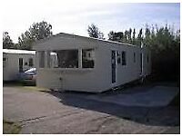 static caravan on anglesey village location one mile from beach