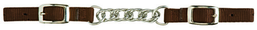 """Weaver Leather Nylon Curb Chain 3 1/2"""" Flat Link, 35-8025"""