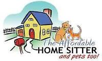 Mature Female House & Pet Sitter Available
