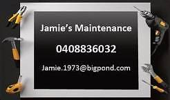 Jamie's Maintenance Baldivis Rockingham Area Preview