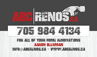 ABC Renovations-Call today for you free estimate