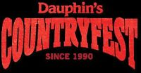 Dauphin Country fest two tickets and camping pass