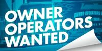 OWNER/OPERATORS NEEDED FOR BELLEVILLE BASED COMPANY