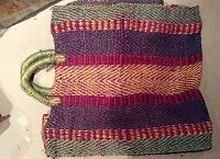 Excellent condition vintage straw bag for sale