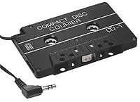 CDC-1 CD MP3 Cassette Adapter - Connect a CD Player to Car Radio