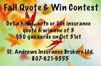 Get a quote & win!