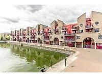 2 bed riverside flat with water views