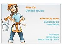 i am a self emplyed cleaner in Cheltenham and surrounding areas