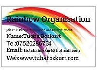 RAINBOW ORGANISATION AND PARTY EVENT