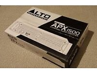 ALTO APX 1500W AMPLIFIER