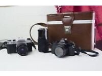 Wanted old film cameras