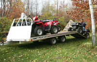 FLOE Aluminum Drive on/off Trailers @ SCH TRAILERS