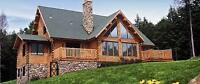 Log Home Restoration - Sunset Restoration Services