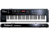 Roland JUNO D Synthesiser Keyboard Professional Synth Studio stage 16 bit Sound