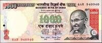 Selling Indian Rupees, Buying Canadian Dollars, $1,000