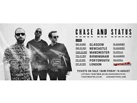 Chase and Status Tickets x4 STANDING o2 Apollo Manchester Tuesday 22nd November £70 Each