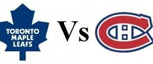 GIFT IDEA! LEAFS VS HABS IN MTL ON FEB27 & MORE!!!!