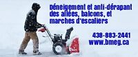 Snow removal and salt/sanding, Ste. Marthe-sur-le-Lac