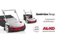 Al-ko 38p petrol scarifier lawn rake