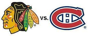 CANADIENS VS CHICAGO REDS/GREYS MARCH.16TH