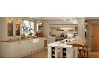 used cream kitchen doors suit anyone updating their kitchen.