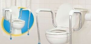 #TelusHelpMeSell - AquaSense® Adjustable Toilet Safety Rails