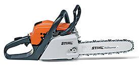 "New Stihl Petrol Chainsaw MS181 16"" - Main Dealer with Warranty - FREE Chain & 2 Stroke Oils"