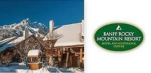 Banff Rocky Mountain Resort Condo~Feb11-Feb18,2018