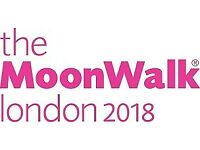 Event Support Driver - The MoonWalk London 2018