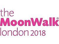Overnight Event Crew - The MoonWalk London 2018