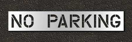 Rae Stl-116-71232 Pavement Stencil,No Parking,12 In