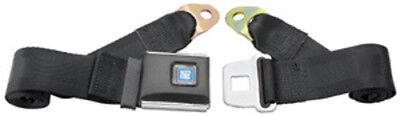 Chevy Seat Belt Belt - GM Chevy Seat Belt Mark Of Excellence Non Retractable Black Lap Seat Belt : 60