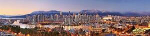 """""""Amazing Vancouver"""" Giclee Canvas by Chris Collacott 30% Off!!"""
