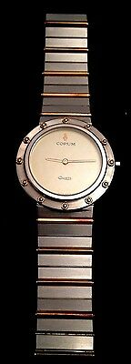 Corum Clipper Club Stainless Steel and 18K Gold Unisex Wristwatch