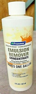 Franmar Strip-e-doo Concentrate Emulsion Remover Makes 1 Gal.