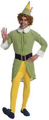 New Buddy the Elf Movie Christmas Adult Costume Santas Helper (Elf Movie Costumes)