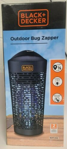 Black+Decker Non-Toxic High Voltage Outdoor Bug Zapper BDPC958