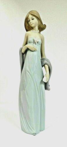 LLADRO Ingenue MIB #5487 Lady/Gown Vestido de Noche in Original Box MINT L@@K