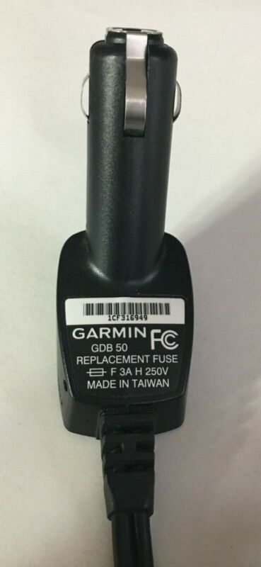 Garmin GDB 50 Car Charger Power Cable