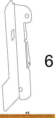 CHRYSLER OEM 11-14 200 2.4L-L4 Radiator-Shield Left 68378481AA