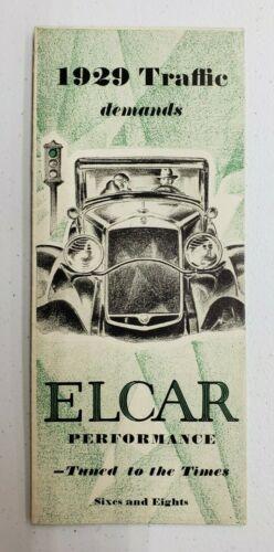 1929 Elcar Sales Folder