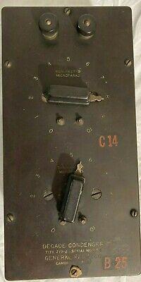 General Radio Decade Condenser Type 219-j 1106